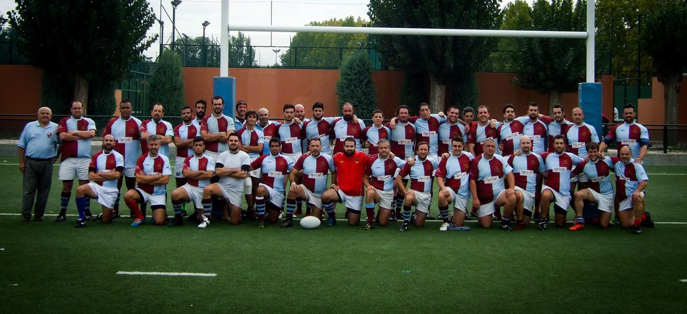 San Isidro Rugby Club Madrid - los dos equipos 2015