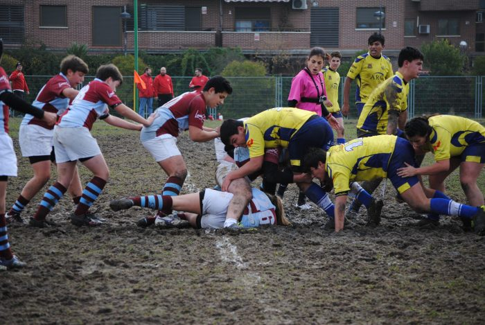 7ª Jornada Sub16 Desarrollo URO Alcorcón vs San Isidro Fuencarral, campo de la Universidad Rey Juan Carlos